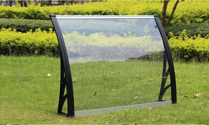 PC阳光板雨棚,pc板