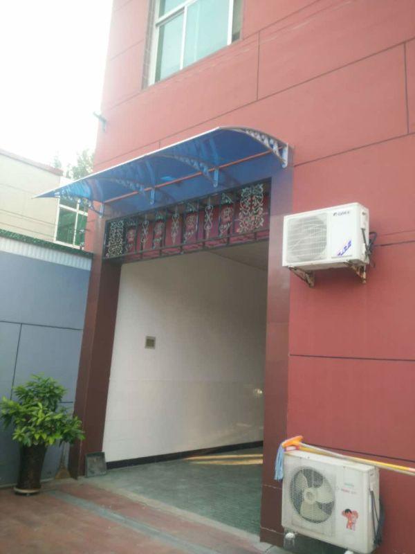 易县家用耐力板雨棚,工程案例