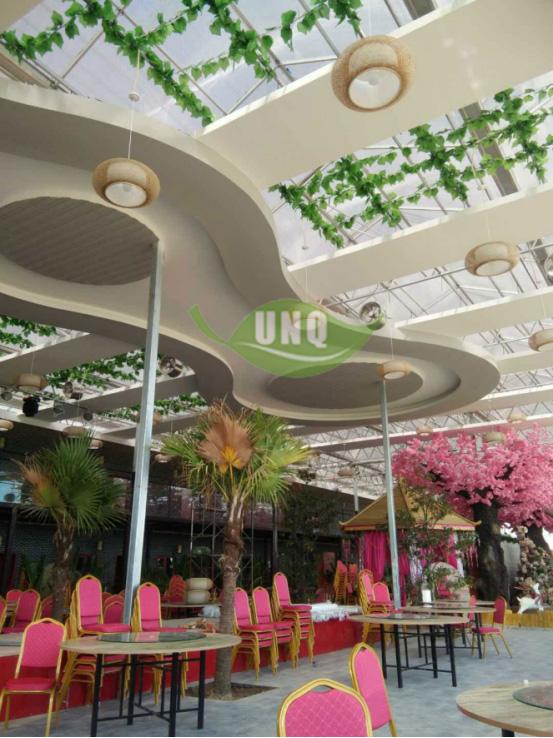 温室阳光板餐厅