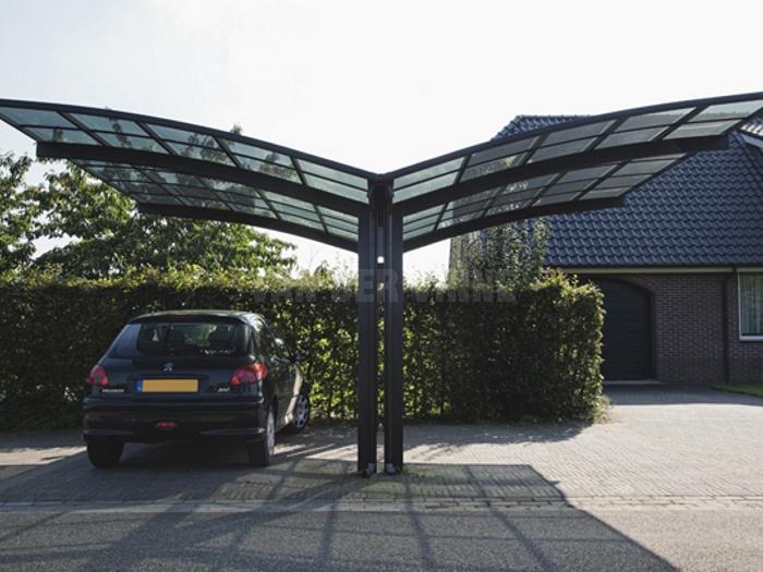 pc阳光板车棚