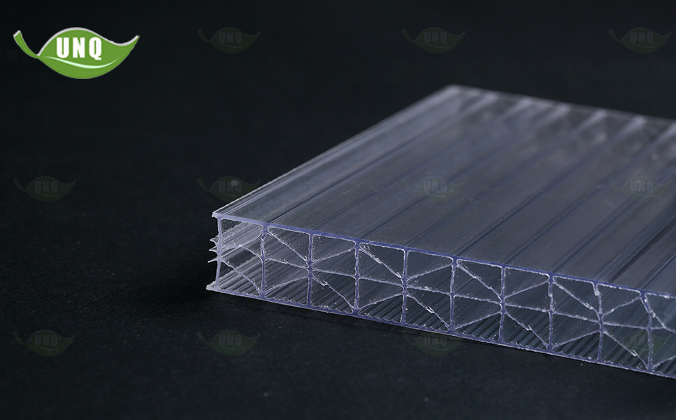 透明米字型阳光板