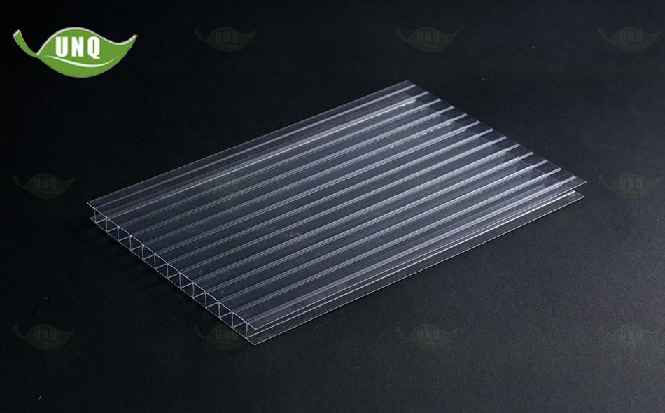 6mm透明双层阳光板价格