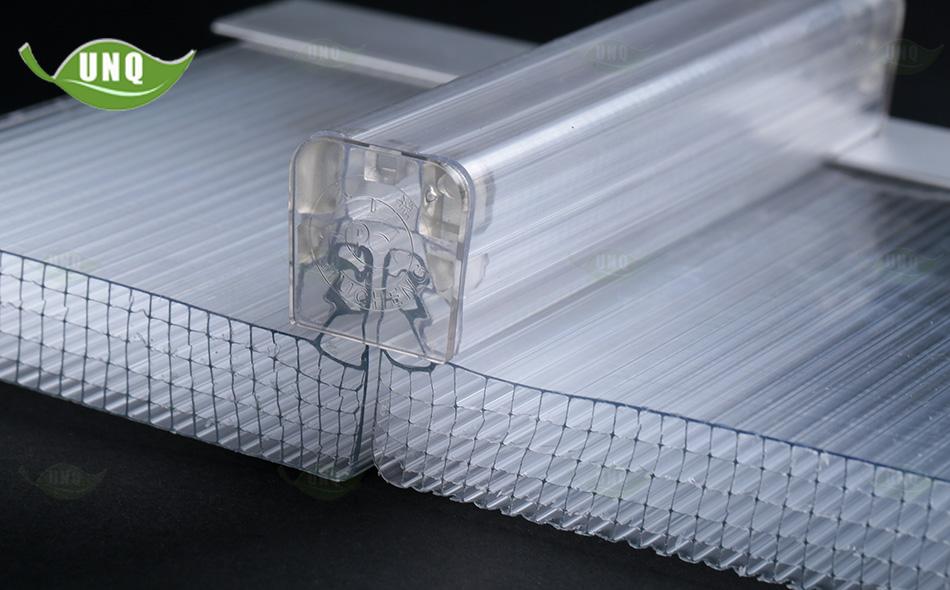 U型阳光板怎么安装?阳光板厂家告诉你安装锁扣