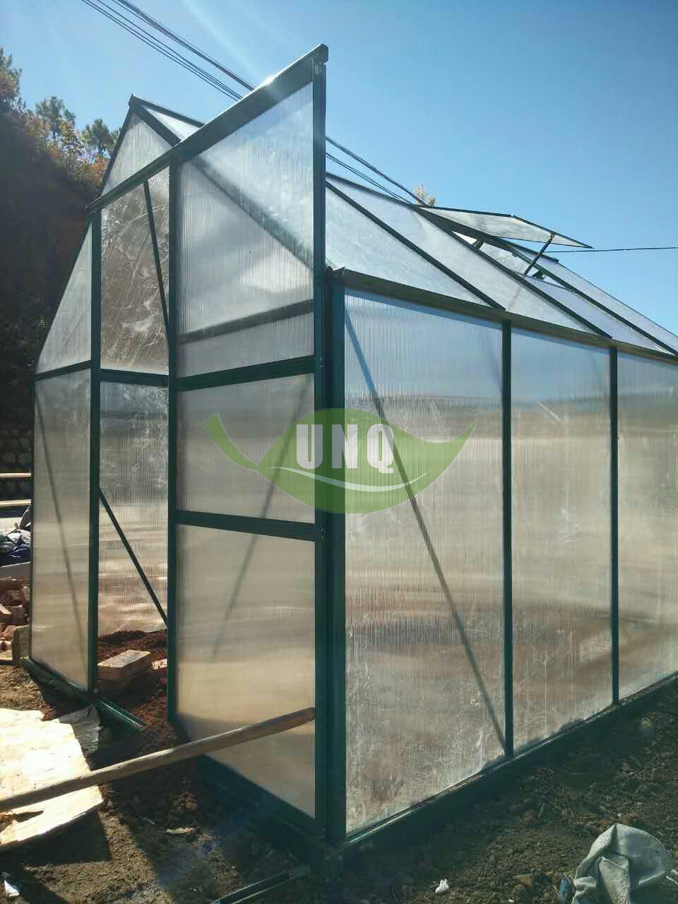 阳光板温室花房