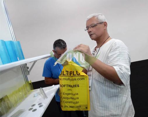 优尼科河北阳光板厂家参加国际展会