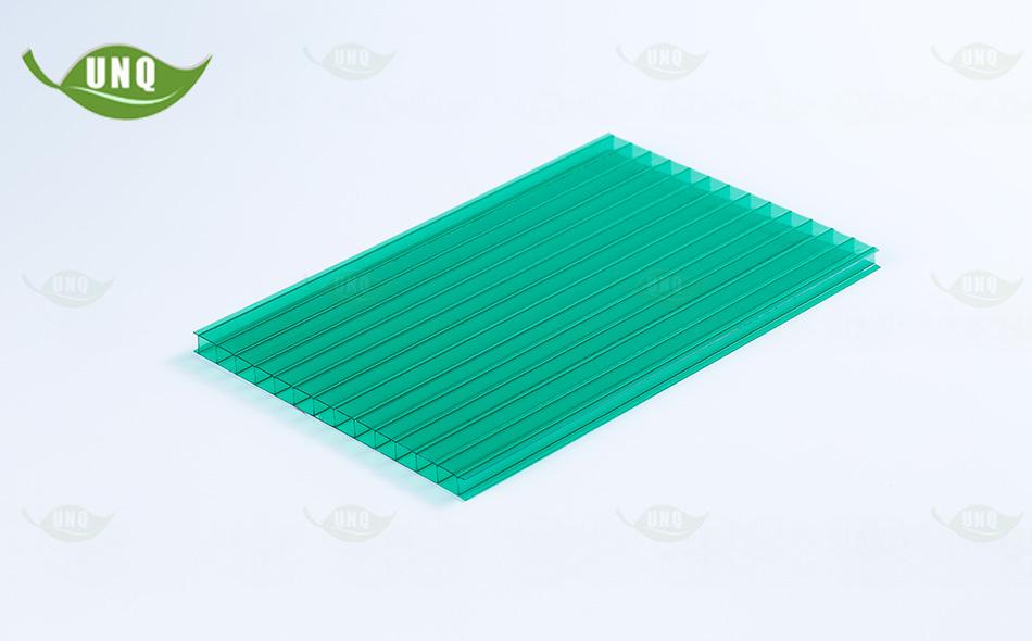 草绿双层阳光板样品