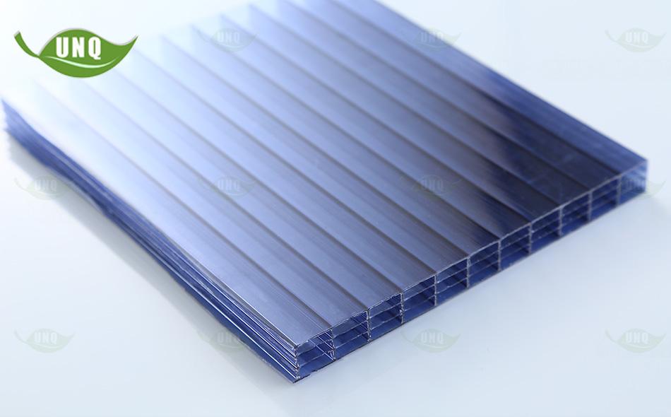 14mm灰色四层阳光板