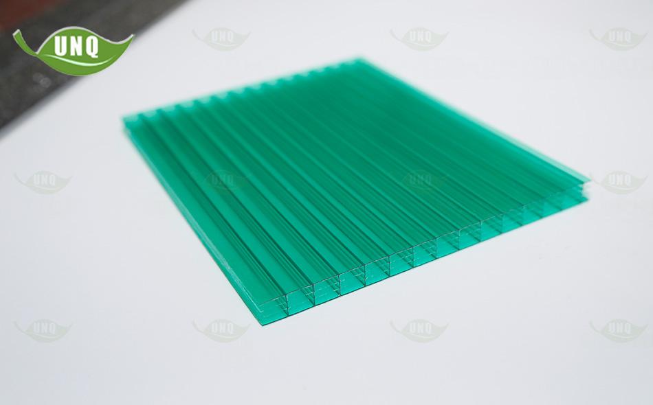 20mm草绿四层阳光板