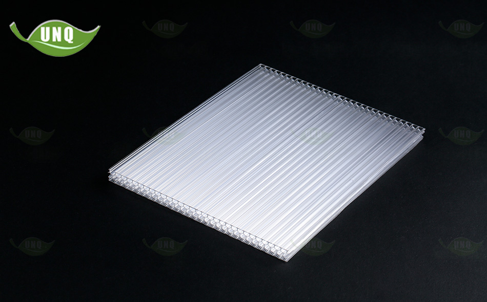 6mm透明蜂窝阳光板