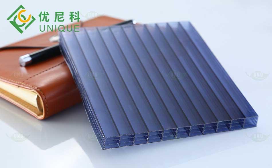 优尼科生产四层阳光板