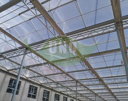 8mm阳光板-包头温室工程