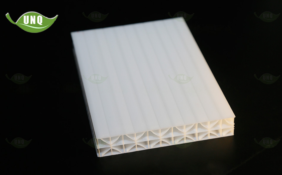 河北优尼科米字型阳光板图片