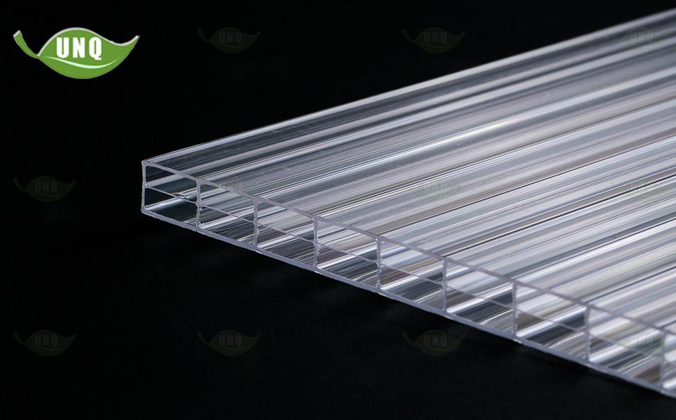 优尼科三层透明阳光板图片