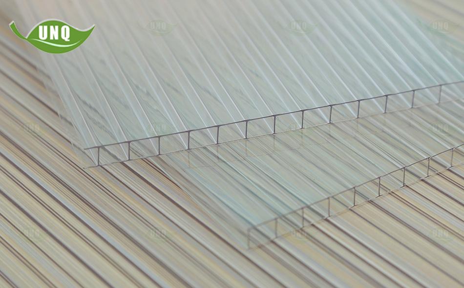 优尼科双层透明阳光板图片
