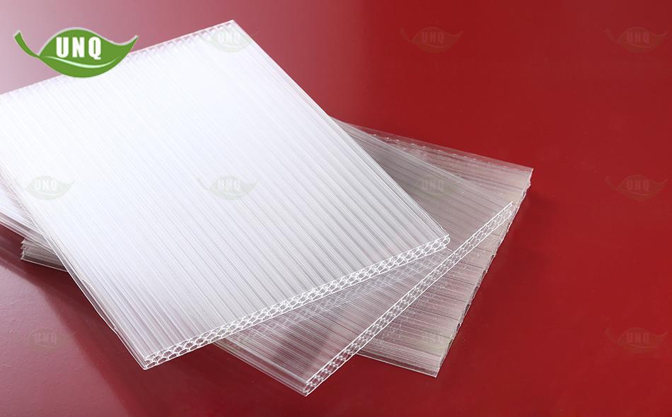 优尼科蜂窝型透明阳光板图片