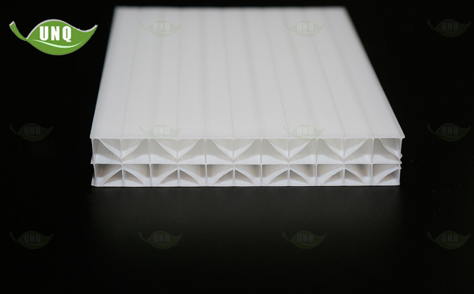 米字型乳白阳光板图片