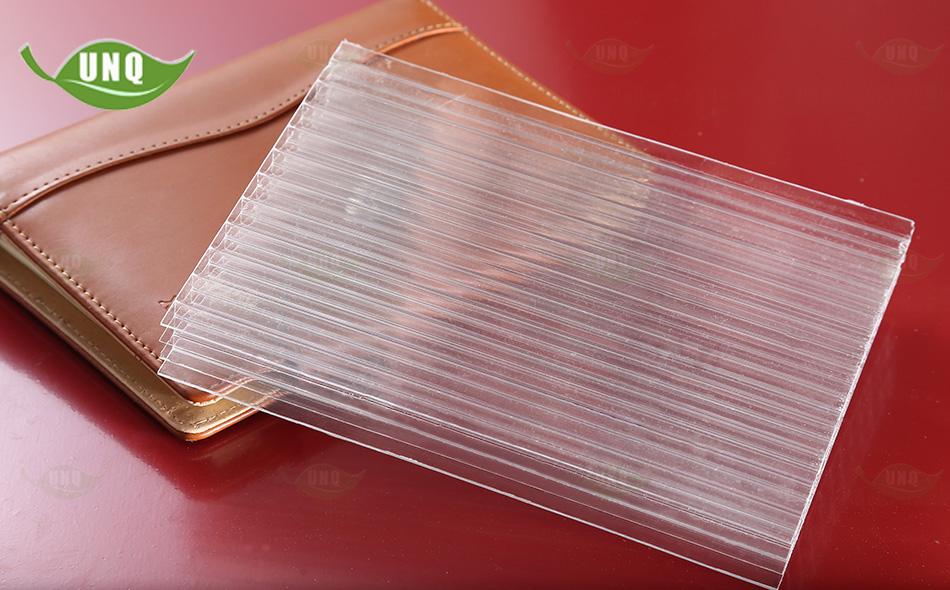 优尼科四层透明阳光板图片