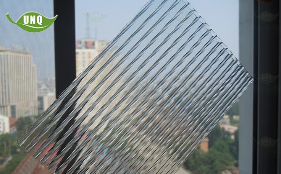 优尼科双层阳光板图片