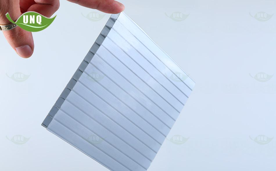 优尼科灰色双层阳光板图片