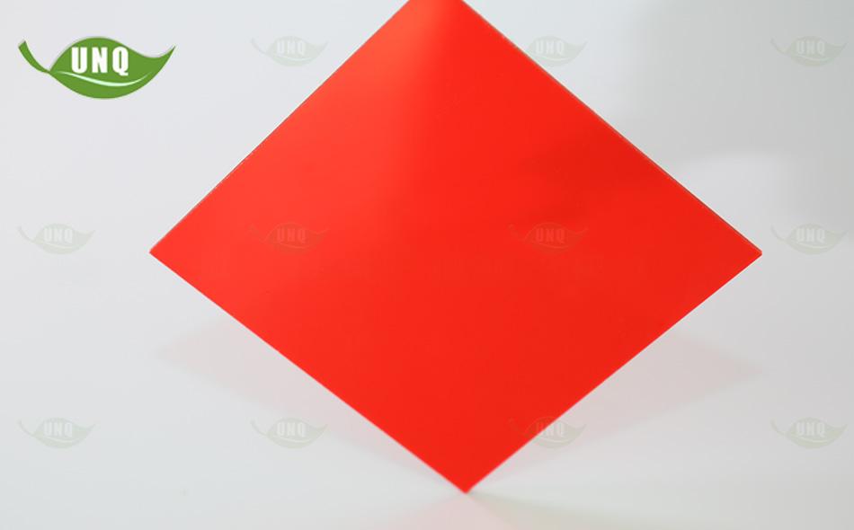 优尼科3mm红色耐力板