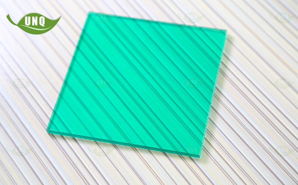 优尼科草绿pc阳光板图片