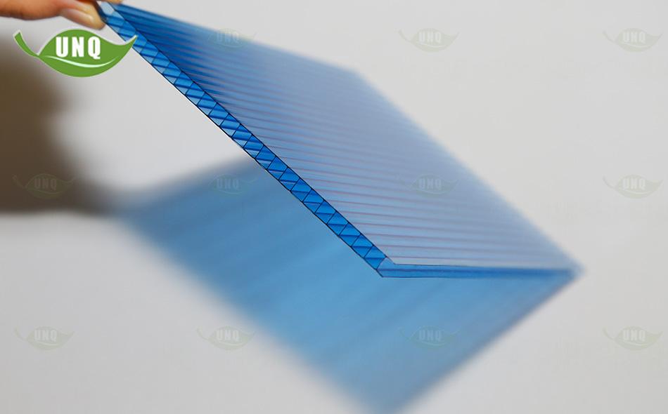 优尼科宝蓝双层阳光板
