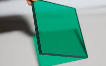 草绿pc实心耐力板