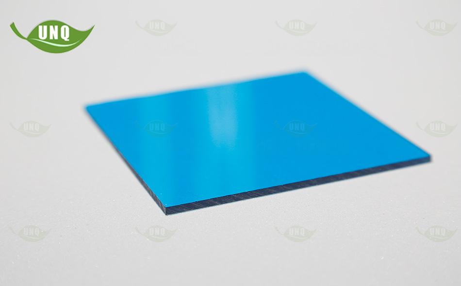 湖蓝pc实心耐力板