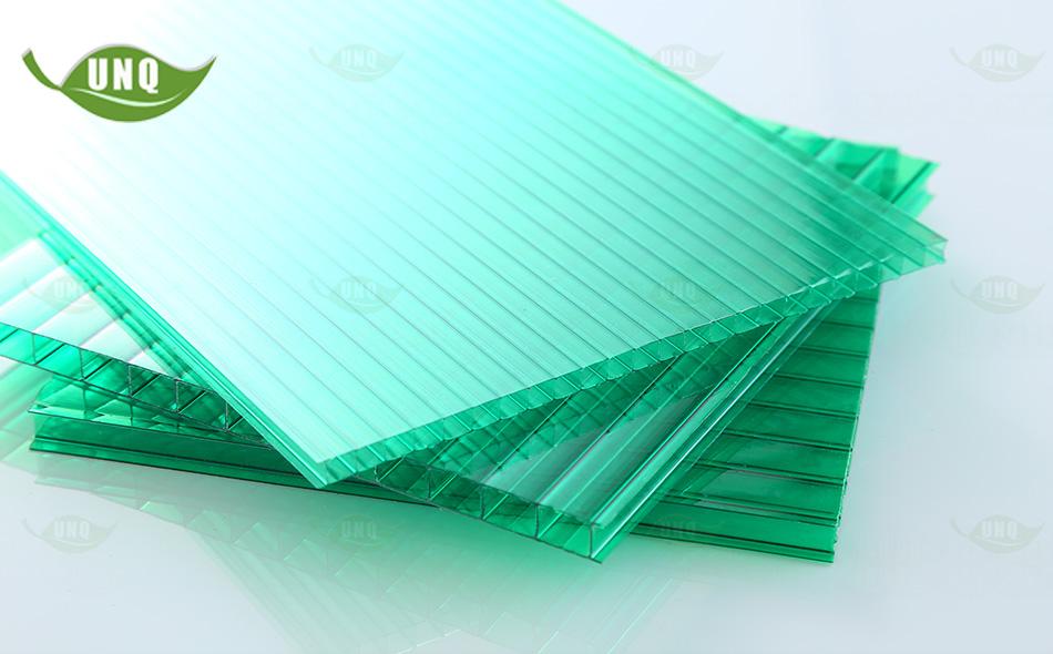 双层草绿阳光板