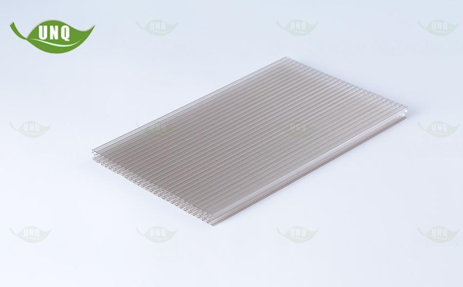 蜂窝型茶色阳光板