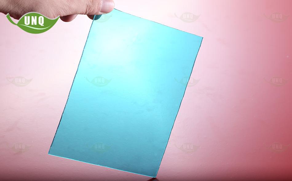 湖蓝实心pc耐力板
