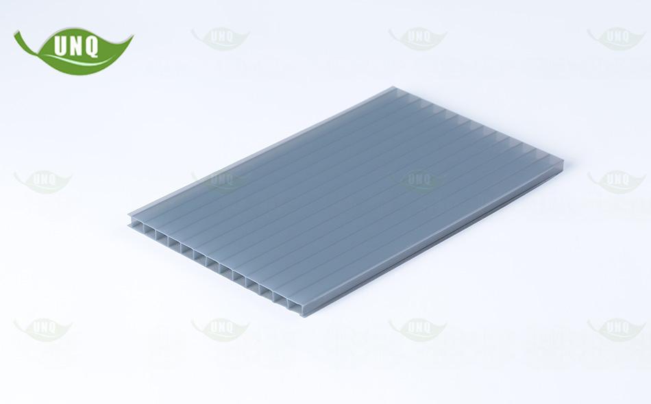 灰色双层中空板