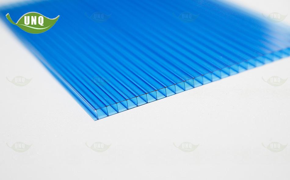双层宝蓝阳光板