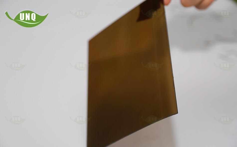 茶色实心耐力板