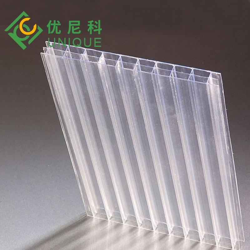 三层透明阳光板